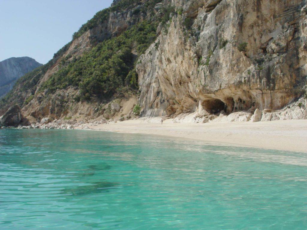 Cala dei Gabbiani dal mare